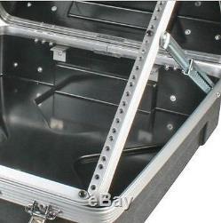 MCM Custom Audio 555-15641 Abs Mixer Flight Portable Equipment Dj / Pa Case 12ru