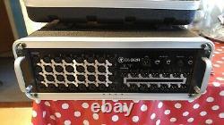 Mackie DL32R 32-Channel Wireless Digital Mixer and a 3U rack case