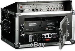 Marathon MA-M804E Flight Road Case Ma-m804e 8u Slant Mixer Rack / 4 U Vertical