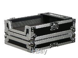 Mixer Case Rack DJ Pro Professional ATA Road Black Amp Cases Slant Angle 12 Inch