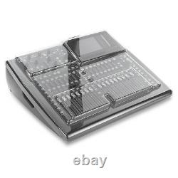 Mixware Decksaver Pro Plastic Dust Cover for Behringer X32 Compact
