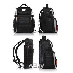 Mono Case FlyBy EFX Series DJ/Mixer/Audio/Laptop Backpack Bag Case Jet Black