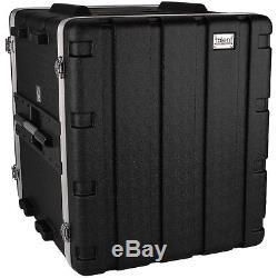NEW PA 12RU Equipment Rack Mount Flight Storage Case. Concert. 19 Depth. 12U space