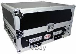 NEW Pro X T-2MR 2U x 10U Space Slant Combo DJ/Mixer ATA Flight Rack Case