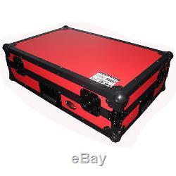 NEW Red Pioneer DDJ-SX2 ddjsx Road gig ready flight hard case ProX DJ