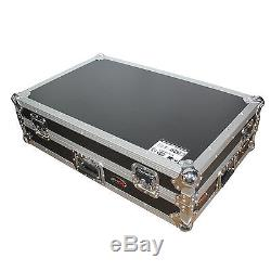 New DJ flight road ready hard case for pioneer XDJ-RX with laptop shelf and wheels