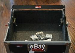 New GATOR G-TOUR ATA Road Flight Mixer Case Pop Up Rack 20 x 18 x 10