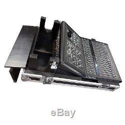 New MIDAS M32R Pro Heavy Duty Road Case PA Mixer Console with wheels & doghouse