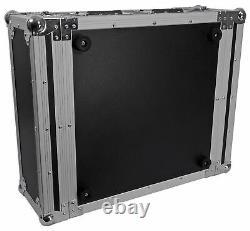 New Pro X T-4RSS 4U Space DJ 19 Flight Rack Case With 3/8 Plywood