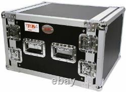 New Pro X T-8RSS 8U Space Vertical DJ 19 Flight Rack Case ATA 300