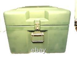 New Us Military Zero Cases Single LID Roto-molded Extreme-duty Transit Case Box
