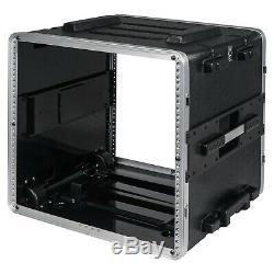 OPEN BOX Sound Town Lightweight 10U DJ Rack Case ABS, 19 Depth (STRC-A10UT-R)