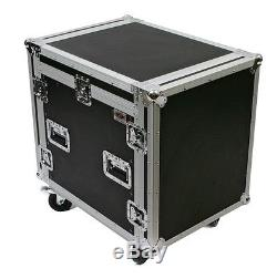 OSP 10 Space ATA Flight Road Case with12u Top Mounting for Presonus 16.4.2 Mixer