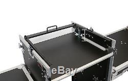 OSP 16 Space 10uTop Mixer/Amp Portable/Mobile DJ Karaoke Case with2 Tables