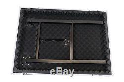 OSP 16 Space 20 Deep Amp ATA Shock Mount Rack Road Case withLid Table