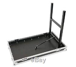 OSP 16 Space ATA Mixer/Amp Rack Case & Table Lids