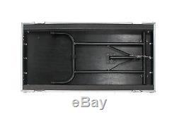 OSP 20 Space ATA Amp DJ Road Case with12u Top Mixer Mount