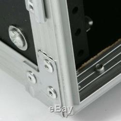 OSP 6 Space 6u ATA Amp Tour Flight Rack Road Case 20 Deep 3/8 Plywood