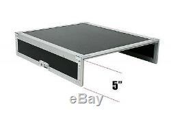 OSP 8 Space ATA Mixer Amp Rack Road Case /Top Mixer Mount Fits Presonus 16.4.2