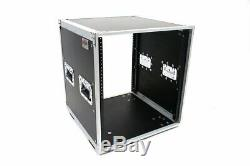 OSP KD12U 12 Space Deluxe Studio Rack With Handles and Casters