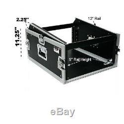 OSP MC12U-4 4 Space ATA Mixer/Amp Rack 12 Space deep on top slant