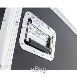 OSP PRO19 16-Space ATA Mixer/Amp DJ Heavy duty Sound System Rack + Standing Lids