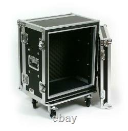 OSP SC12U-12 12 Space ATA Padded Shock Effects Rack withCasters, Flight Ready