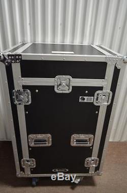 Odyssey 16u Flight Slant 11u Road Case Gator Ata 12u 10u Dj Mixer Rack Fr1016w