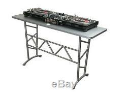 Odyssey ATT Pro DJ Aluminum Truss Table Turntable Mixer Stand 200 LB Capacity