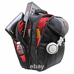 Odyssey BRLBACKSPIN2 Redline Series Backspin 2 Digital DJ Gear Backpack