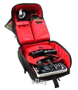Odyssey BRLRMXBP1 S1 DJ Backpack For 17 Laptop/Controller/Mixer/Headphones