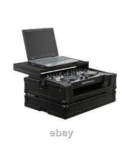 Odyssey Black Label FRGSDNMC36000BL Flight Case 4 Denon DN-MC6000 DJ Controller