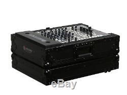 Odyssey Black Label FZ12MIXBL 12 Inch DJ Mixer ATA Flight Case With Lid FZ12MIX