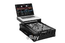 Odyssey Black Label Series Low Profile Glide Style Case for a 10 Dj Mixer