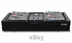 Odyssey CBM10E Economy Battle Mode Pro DJ Turntable Mixer Coffin Case Black