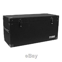 Odyssey CLP180E Carpeted Pro DJ Case with Detachable Lid for 180 LP Vinyl Records