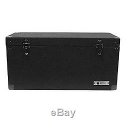Odyssey Carpeted Pro DJ Case with Detachable Lid for 180 LP Vinyl Records (Used)