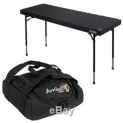 Odyssey Cases CTBC2060 DJ Work Table Folding Legs & Strap Handle Arriba Bag