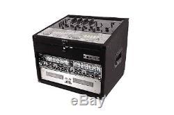 Odyssey Cases CXC904 New Cxc Combo Series 9U Top & 4U Vertical Space Combo Rack