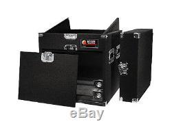 Odyssey Cases CXP1108W New Cxp Combo Series Pro 11U Slant 8U Vertical With Wheels