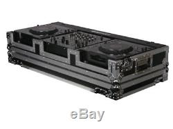 Odyssey Cases FR12CDJWE New DJ Coffin For Two Large Format Cd Players With Wheels