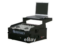 Odyssey Cases FRGS802BL New 10X2 DJ Rack Case With Recessed Hardware & Latches