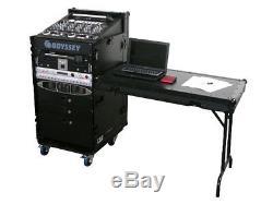 Odyssey Cases FZ1116WDLXBL New Black Label Flight Zone Case With 16 X 11 Space