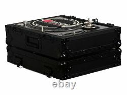 Odyssey Cases FZ1200BL New Black Label Ata Case For 1200 Style DJ Turntables