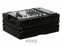 Odyssey Cases FZ12MIXBL New Black Label Flight Zone 12 Inch DJ Mixer Ata Case