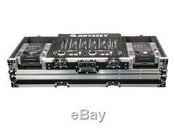 Odyssey Cases FZ19CDIW New 19 Mixer & 2 Medium Format Cd Players Coffin Case