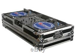 Odyssey Cases FZBM10W New Flight Zone Turntable/Mixer Battle Mode Case With Wheels