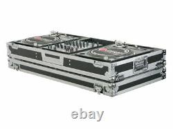 Odyssey Cases FZBM12W New 12 Mixer Turntable Battle Mode Flight Case With Wheels