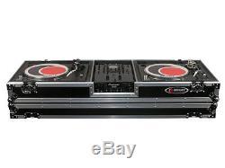 Odyssey Cases FZDJ10W New DJ Coffin Holds 10 DJ Mixer & (2)1200 Style Turntable