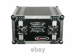 Odyssey Cases FZER6 New Deluxe Ata 6 Space DJ Effects Gear 6U Flight Rack Case